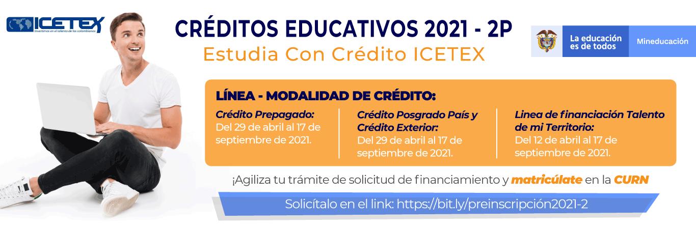 credito ICETEX 20212P