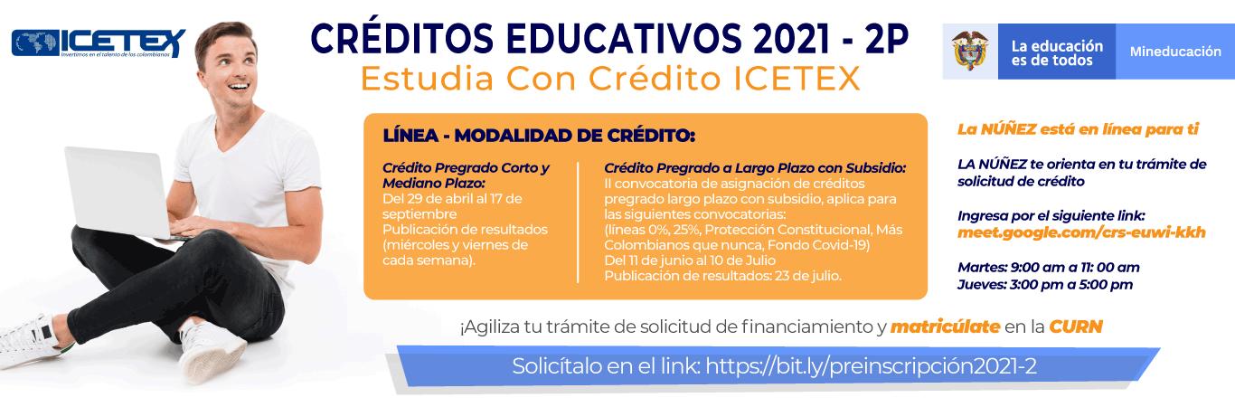 credito educativo 2021-2P