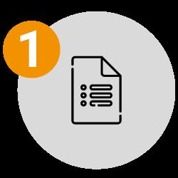 1. Diligencia el formulario