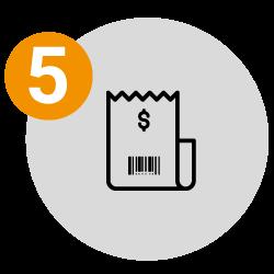 5. Descargar recibo de pago
