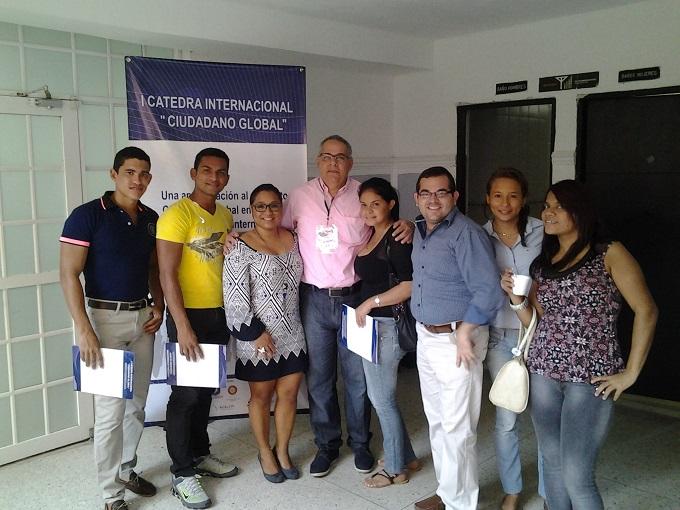"""Estudiantes semilleristas de la CURN participaron en la I Cátedra Internacional """"Ciudadano Global"""""""