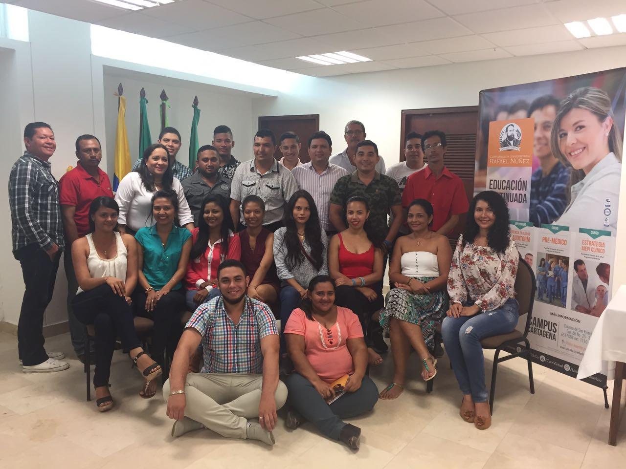 UNINUÑEZ realiza capacitación para personal de COMFASUCRE en Sincelejo.