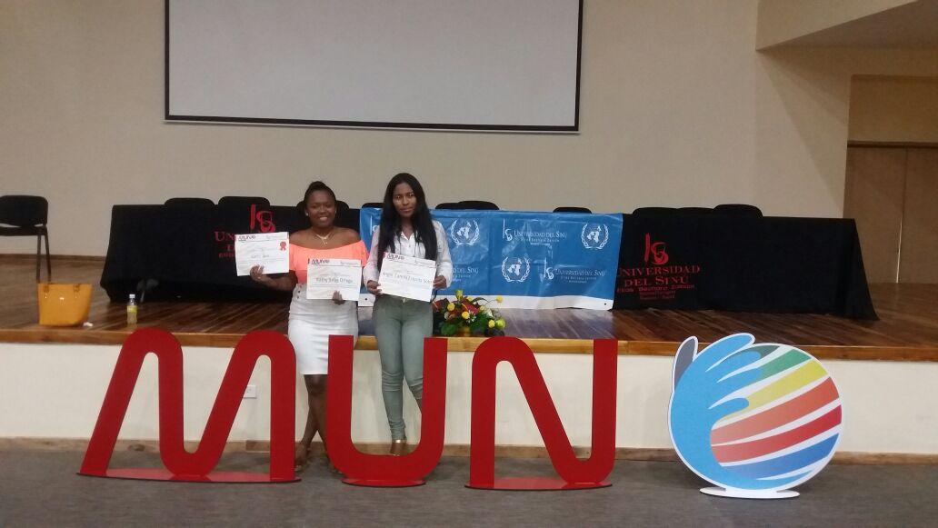 Participación del Programa de Trabajo Social en el V Modelo de Naciones Unidas Unisinú