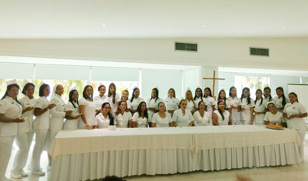 Ceremonia Imposición Símbolos Estudiantes de Enfermería