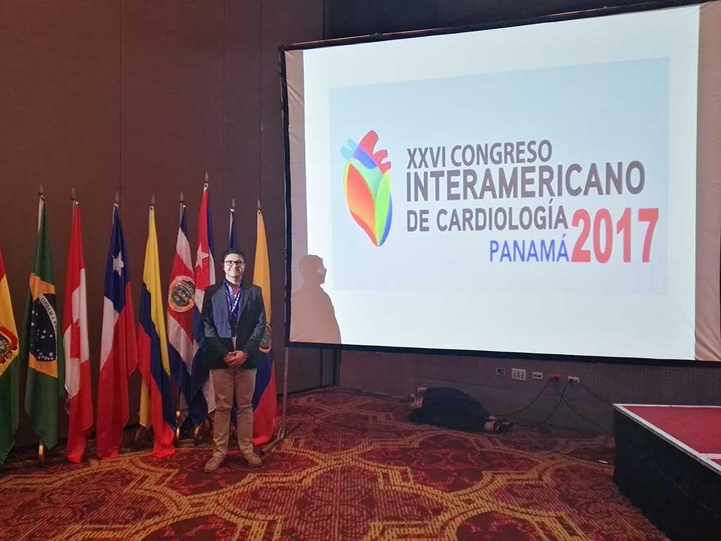 La Uninúñez participa en el XXVI Congreso Interamericano de Cardiología en la ciudad de Panamá