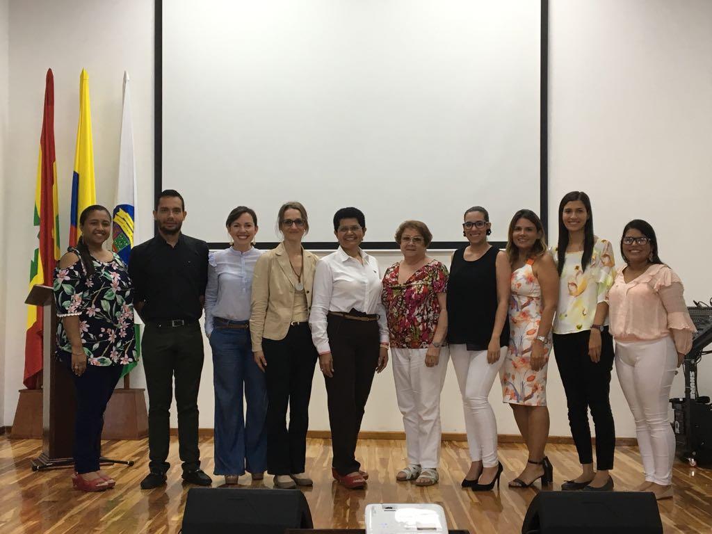 Se realizó reunión de trabajo para la realización de la próxima Semana de Internacionalización Cartagena 2018
