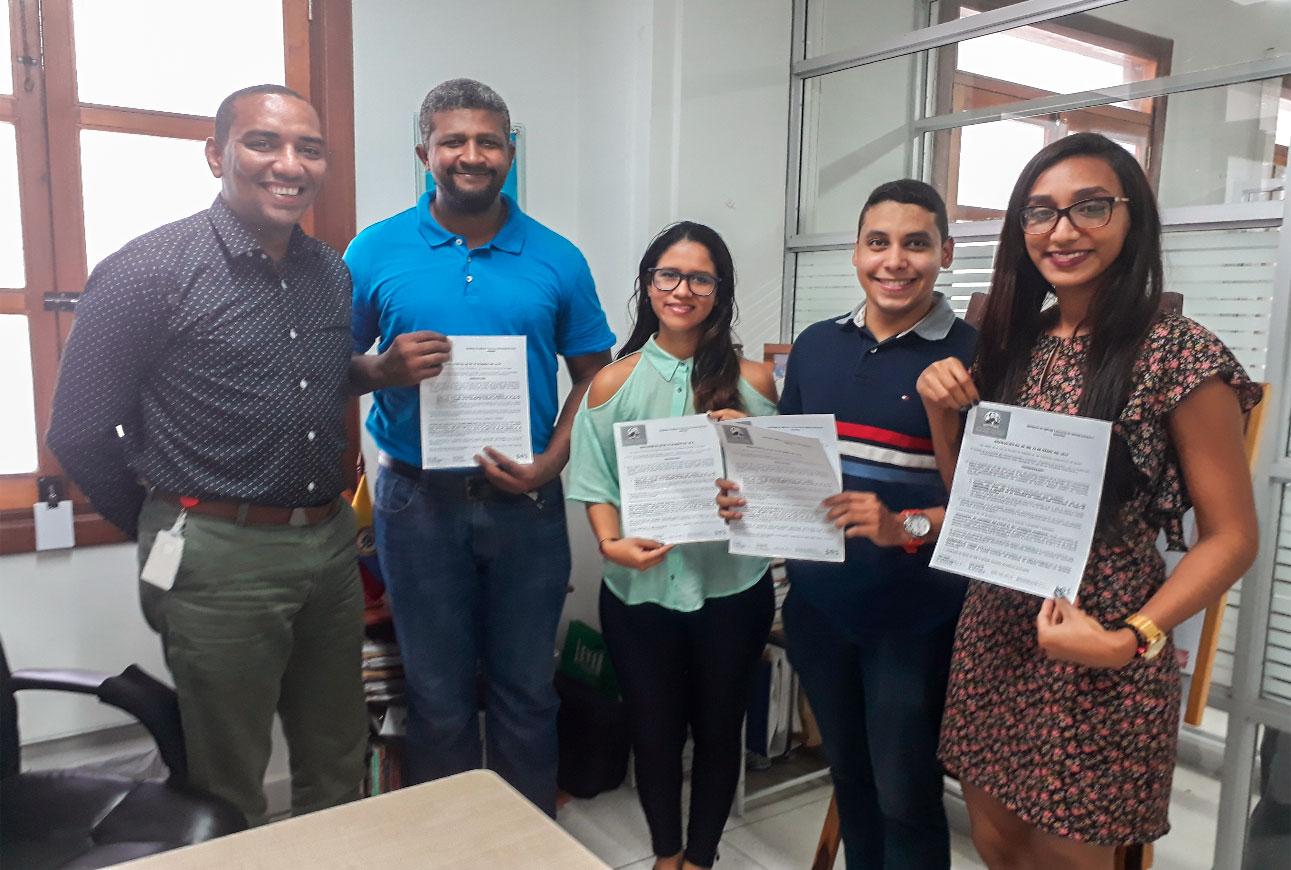 El programa de Derecho de la ciudad de Cartagena reconoce estímulos por Excelencia Académica y Pruebas Saber Pro