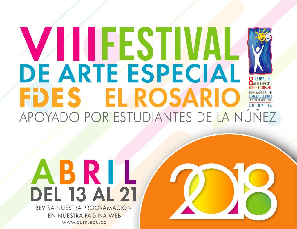 Conoce la la programación del VIII Festival de Arte Especial  FIDES - El Rosario