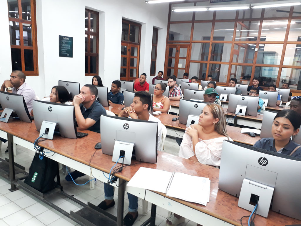 Inducción de estudiantes de Derecho IIP 2018.