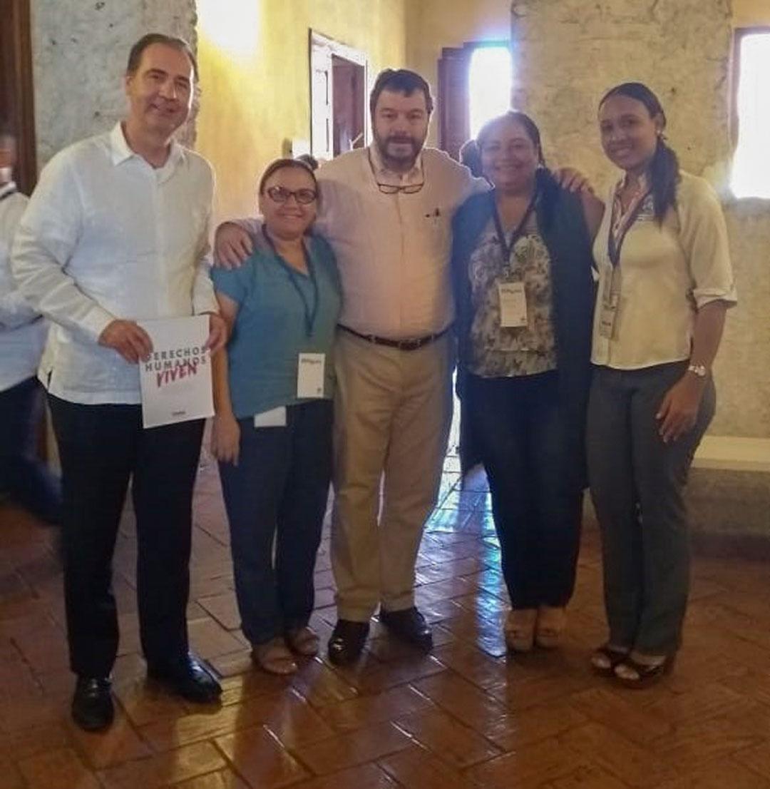 Programa de Trabajo Social hizo parte de la conmemoración de Día de los Derechos Humanos