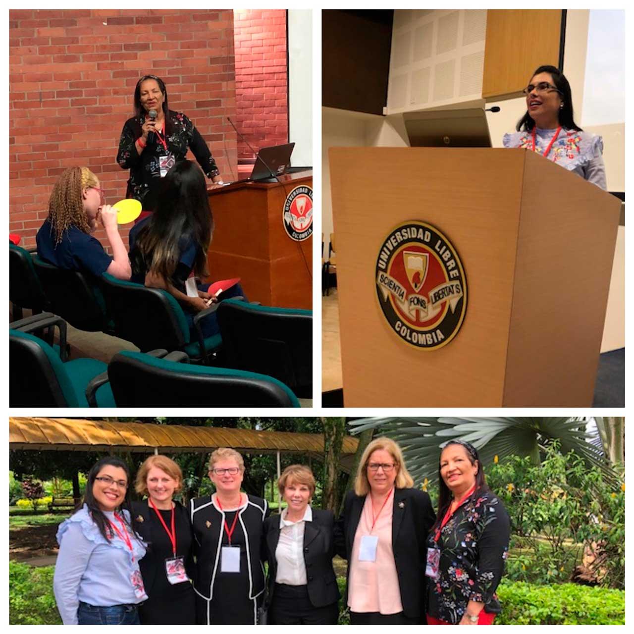 Participación docentes del programa de Enfermería en I Congreso Internacional de Enfermería