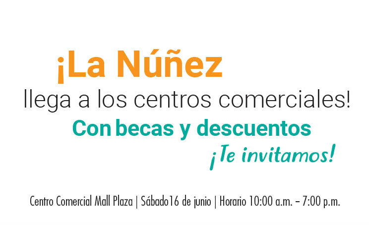 Agéndate y estudia en la Núñez
