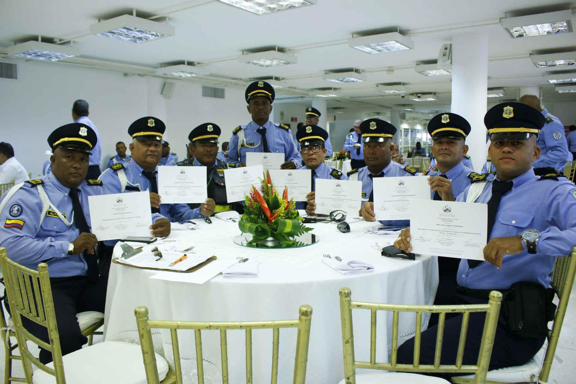 La CURN certificó a 144 agentes y funcionarios del DATT