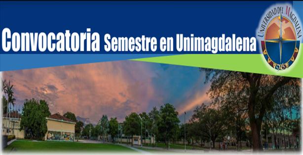 Convocatoria de selección para movilidad estudiantil entrante al programa semestre en UNIMAGDALENA