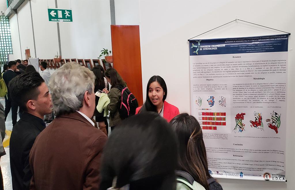Tercer lugar para grupo de Investigación GINUMED en congreso Nacional de Inmunología
