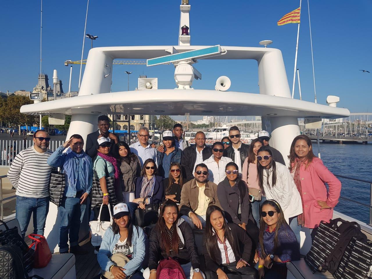 Estudiantes de Contaduría Pública, de ruta por España