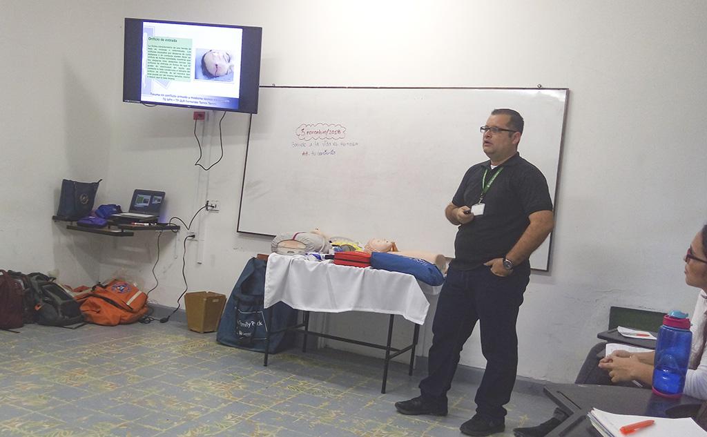 Alianza de la CURN y el SENA para capacitar en primeros auxilios