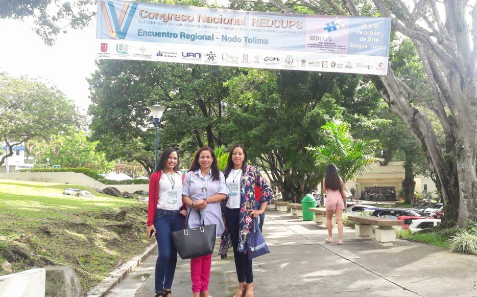 Programa de Bacteriología comparte experiencias en salud en el V Congreso Nacional REDCUPS