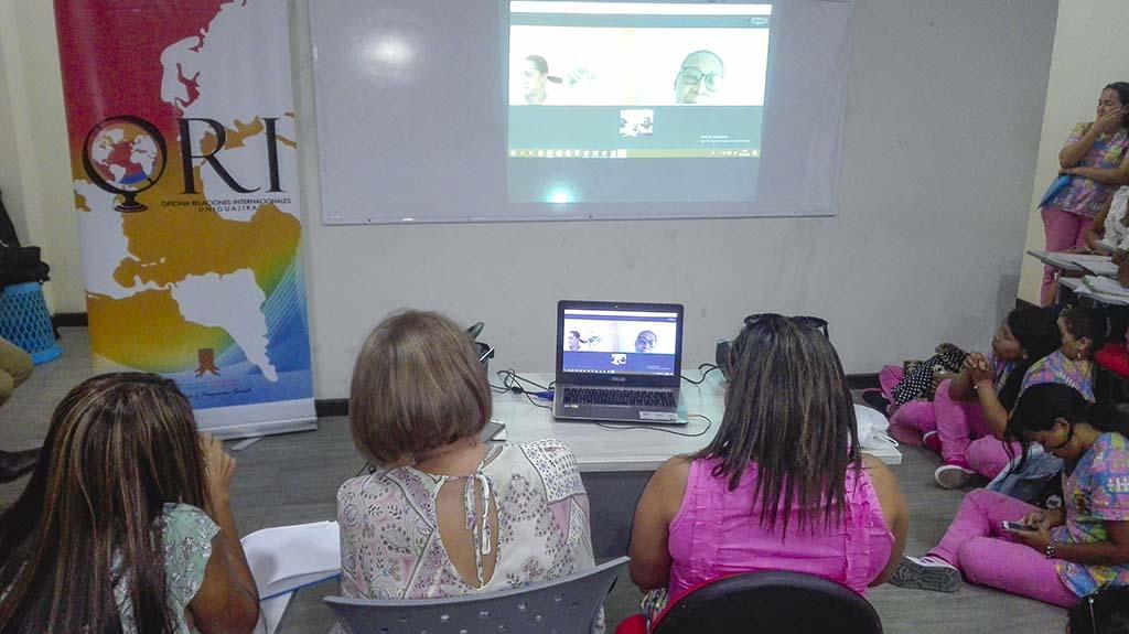 Videoconferencia Universidad de la Guajira