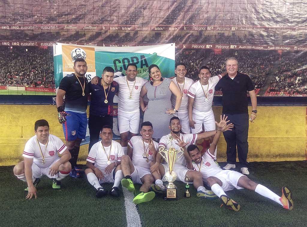 Gran final de la Copa Rafael Núñez en el Campus Barranquilla
