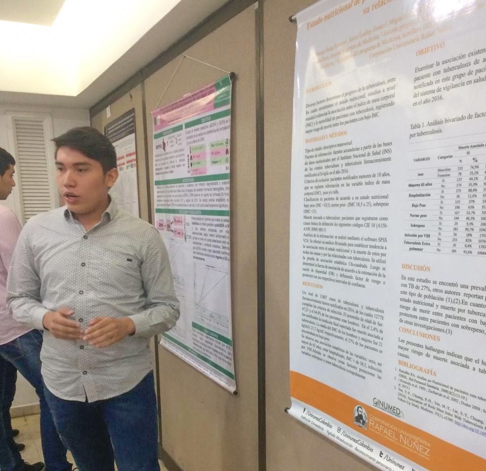 Semillero GINUMED participa en eventos académicos de la Universidad de Pamplona