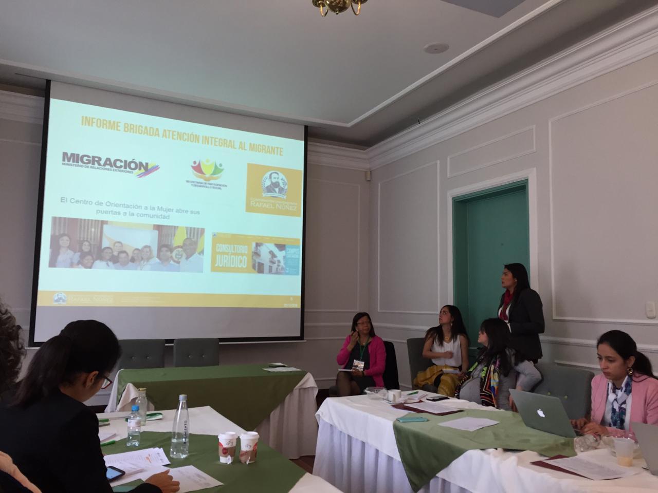 XVIII Encuentro de la Red Sociojurídica para reflexionar en torno a las migraciones en Colombia