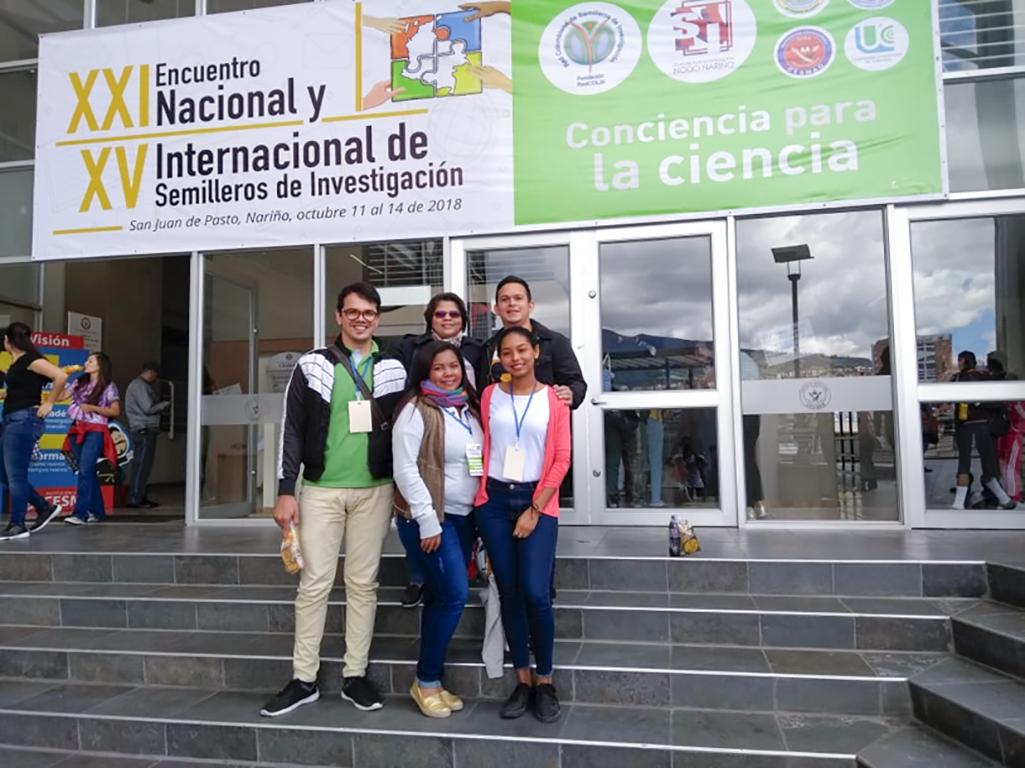 Ponencias de la CURN en el Encuentro Nacional e Internacional de Semilleros de Investigación