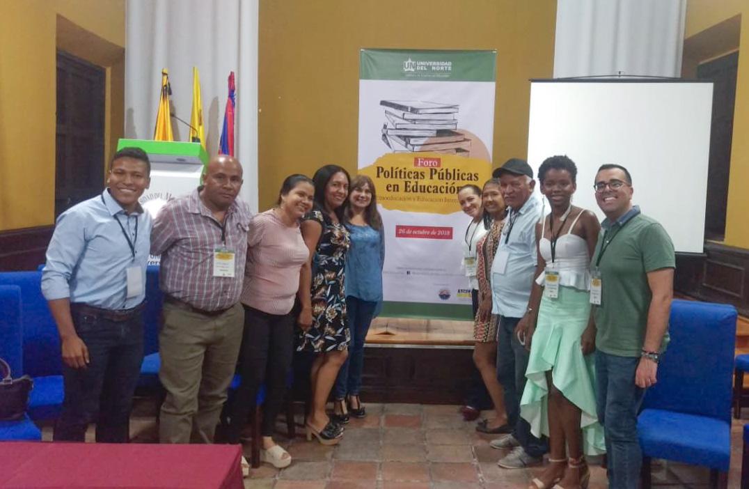 Representación de la Especialización en Educación y Diversidad en el Foro Políticas Públicas en Educación