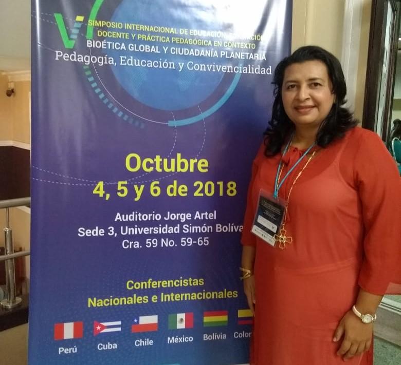 CURN presente en V Simposio Internacional de Educación, formación docente y Práctica Pedagógica