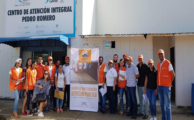 El programa de Derecho se toma barrios de la ciudad en una Brigada de Atención Integral al Migrante