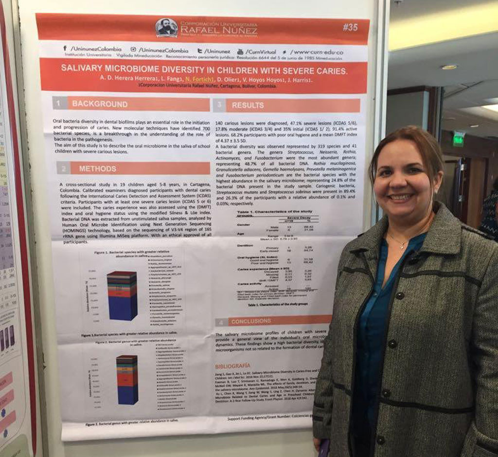 Programa de Odontología presenta ponencia en evento Iadr-lar Uruguay