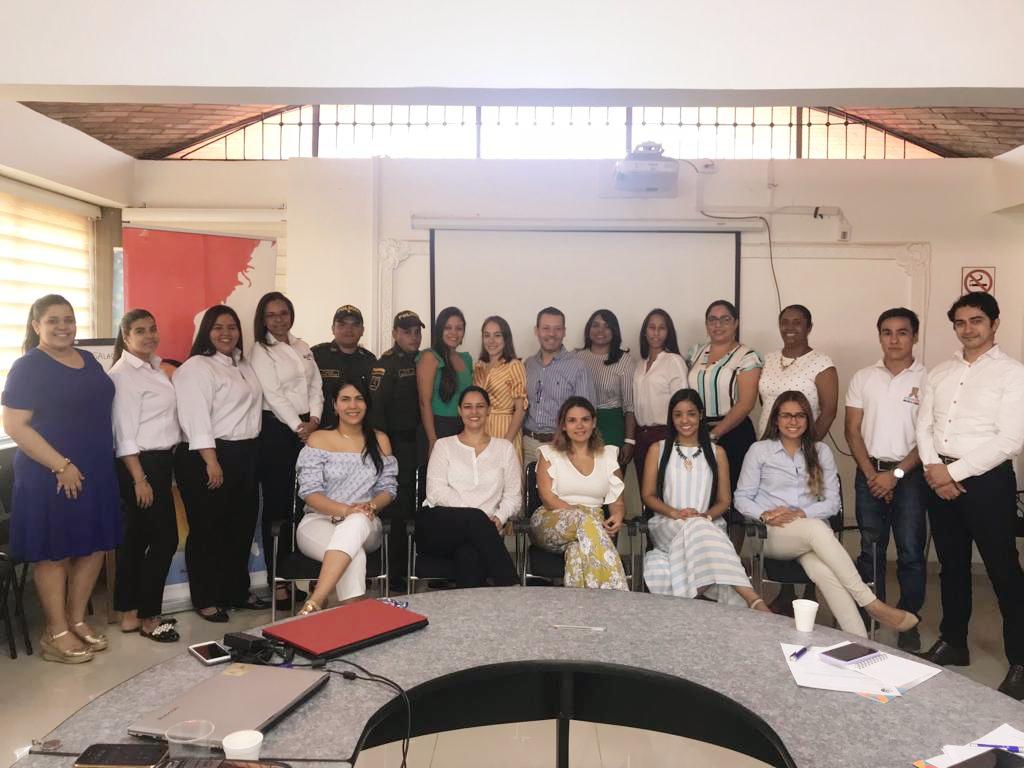 La CURN dirigió 5ta Reunión del año del Nodo Caribe de la RCI