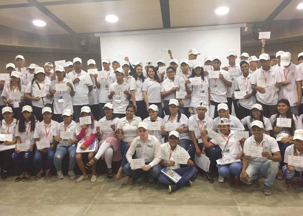 Acompañamos a 500 jóvenes bolivarenses en capacitaciones de participación política y posconflicto
