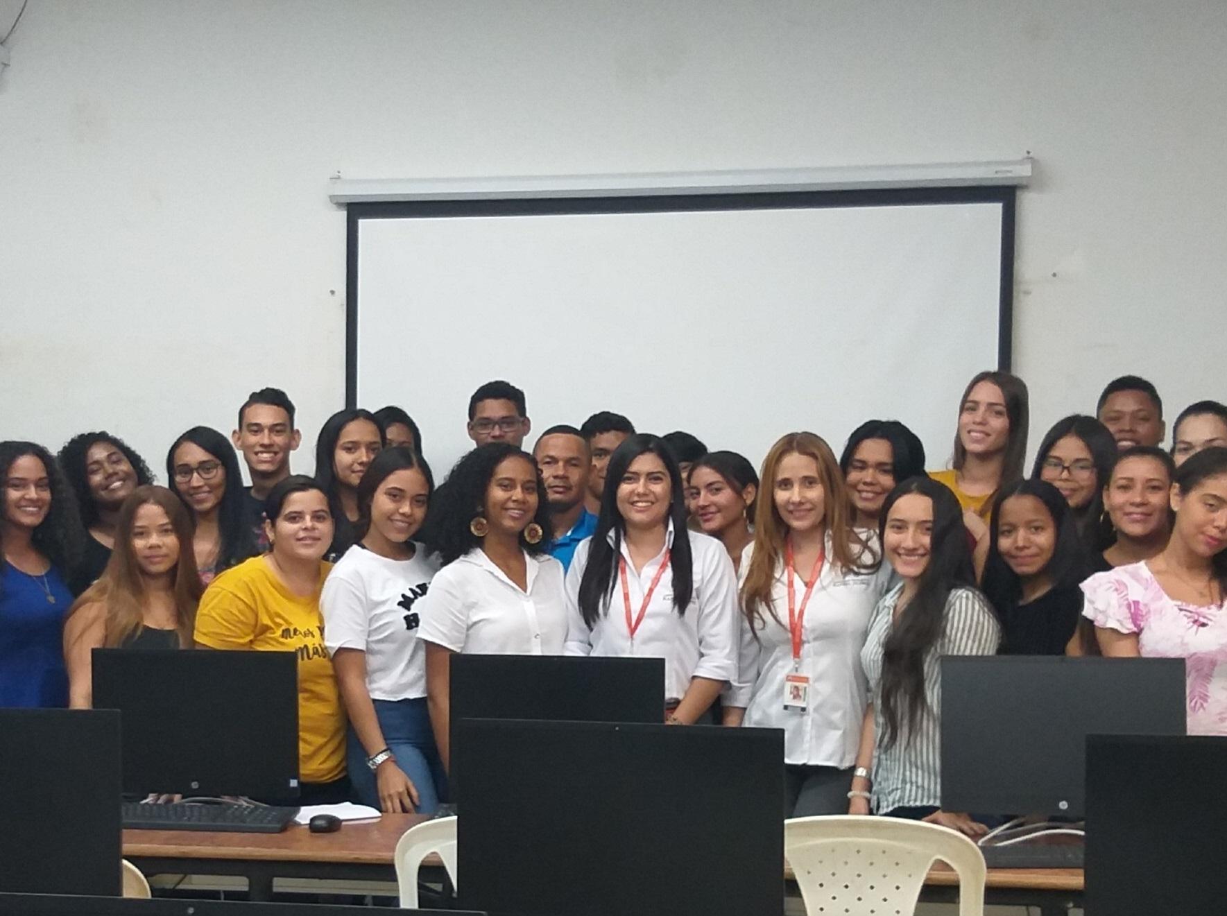 Inducción a estudiantes primer semestre del programa de Derecho Cartagena periodo 2019-2