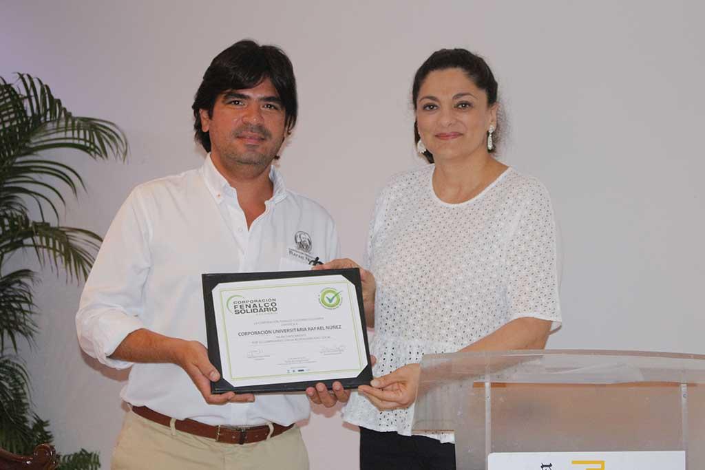 Entrega Certificado Responsabilidad Social