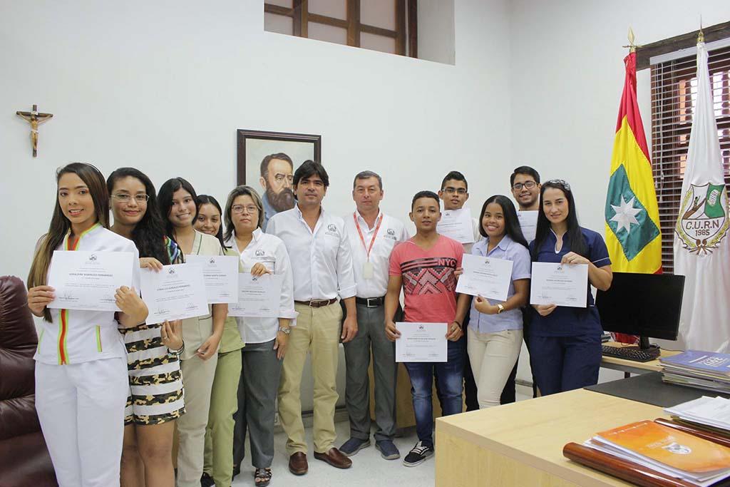 La CURN hizo entrega de becas por excelencia académica a estudiantes Nuñistas
