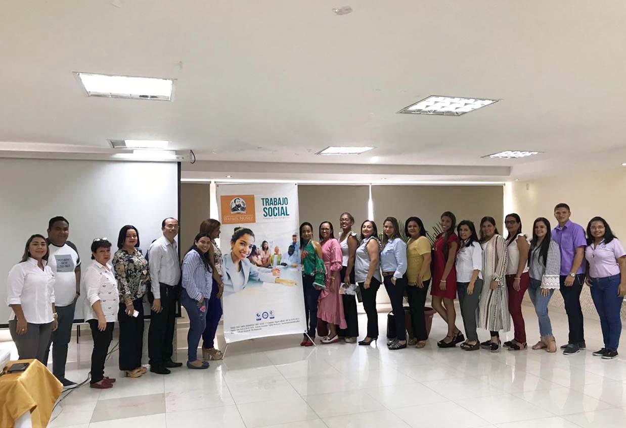 Programa de Trabajo Social, campus Barranquilla, en diálogo con el sector externo