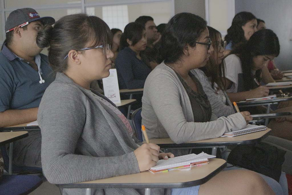 Actividades de capacitación para estudiantes Delfín