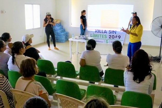 Trabajo Social Barranquilla en el proyecto