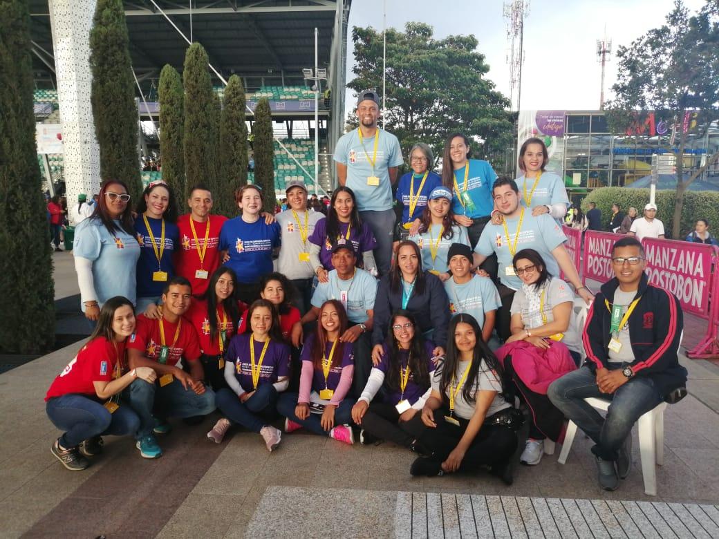 Programa de Licenciatura en Educación Infantil participa en la XXIII Olimpiada Especial FIDES-COMPENSAR- Iberoamérica en Colombia.