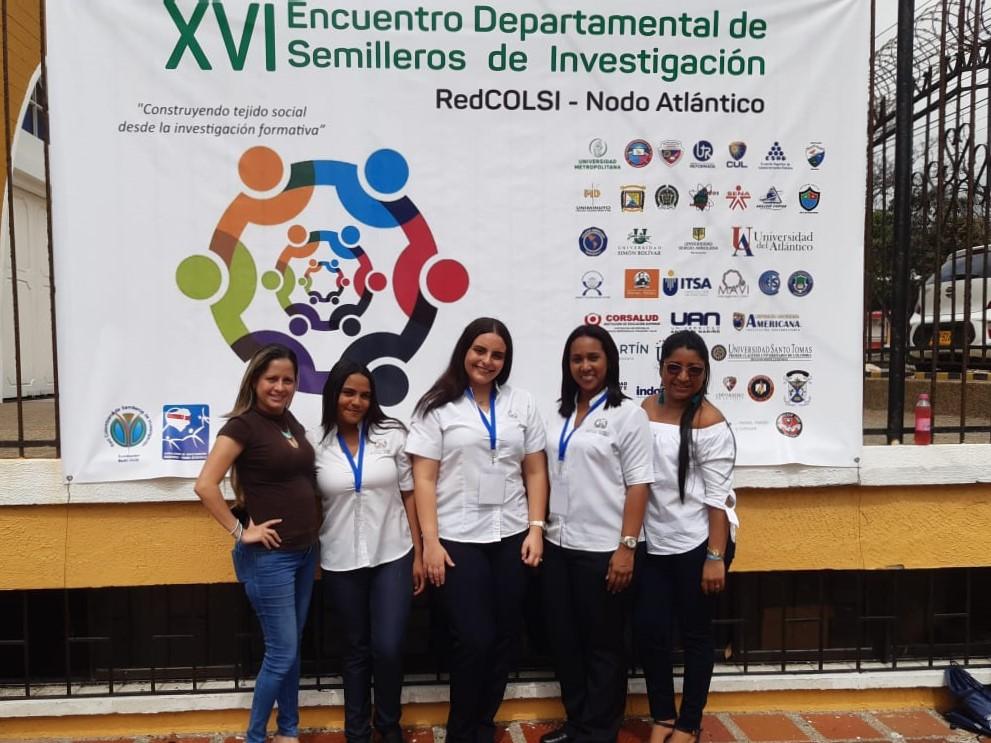 Enfermería Barranquilla presente en el XVI Encuentro Departamental de Semilleros de Investigación