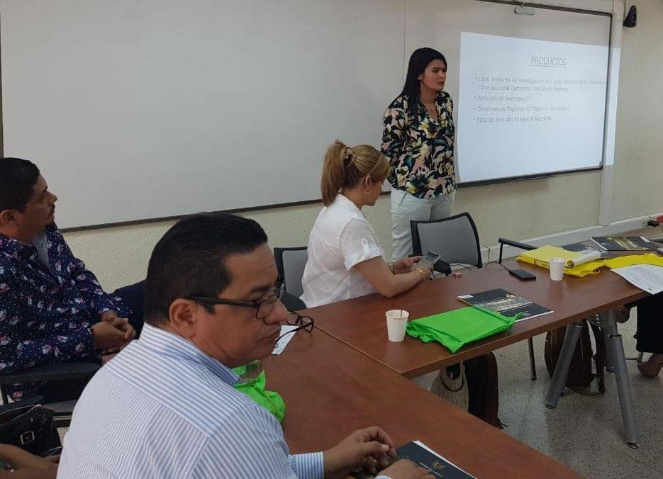 Grupos de investigación de la CURN participan en asamblea técnica de la red de investigación jurídica