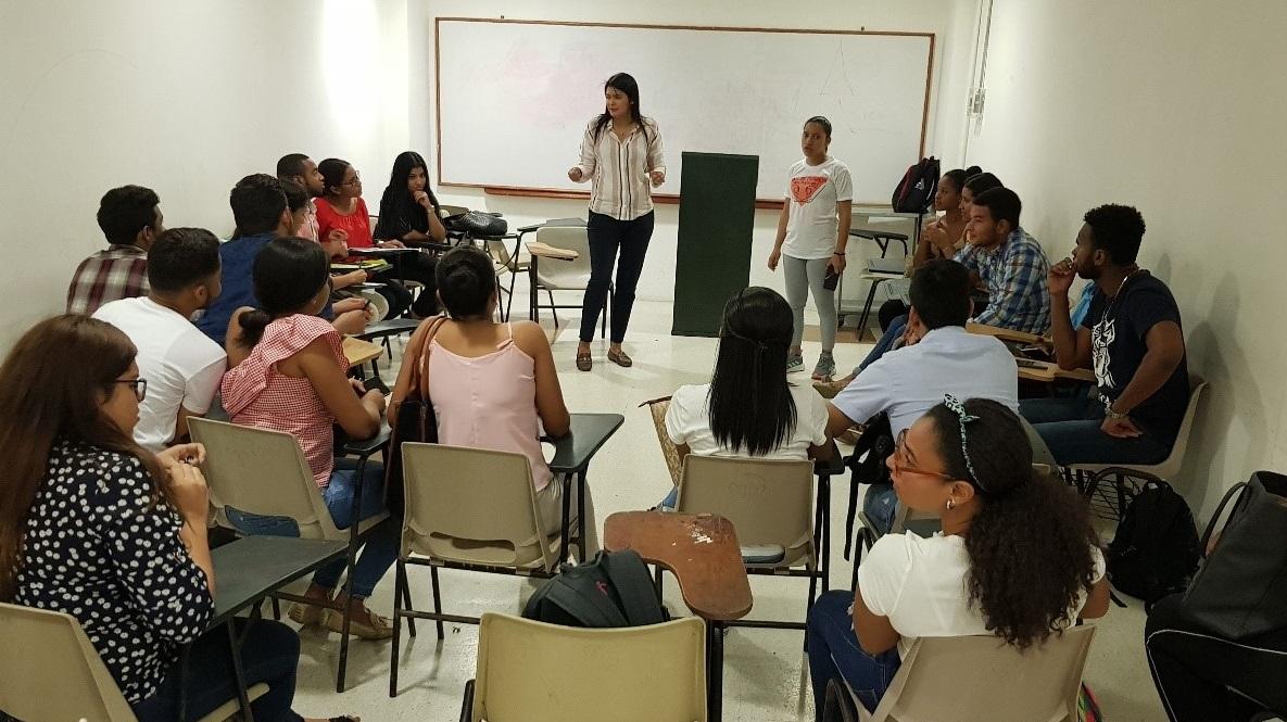 Instalación del semillero de investigación del programa de Derecho Cartagena - 2019