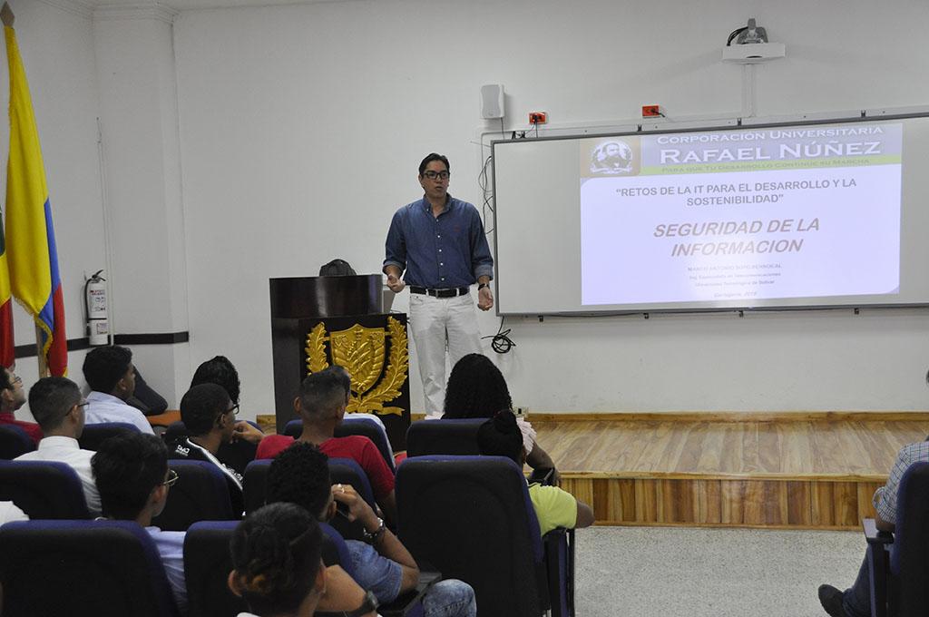 """Ponencia """"Seguridad de la Información"""" participa en evento académico en Cartagena"""