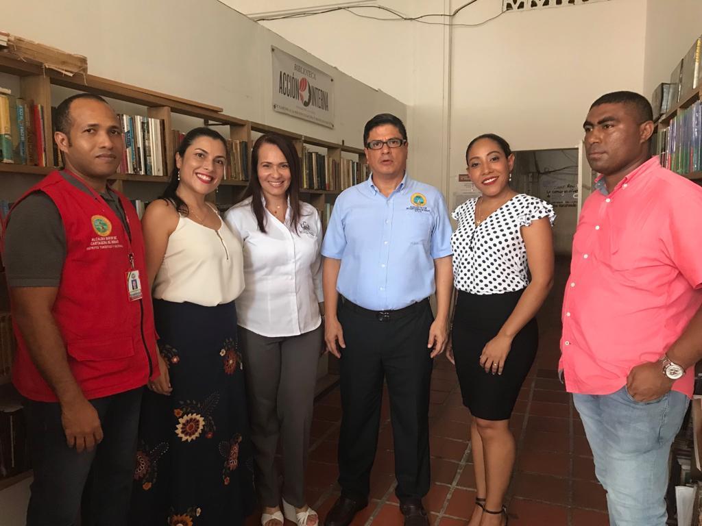 La Secretaría del Interior y la CURN firman convenio por las mujeres recluidas en la Cárcel Distrital de Cartagena
