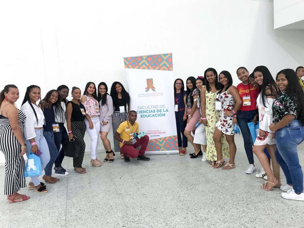 Desde La Guajira: Estudiantes de Licenciatura presentes en el VII Encuentro ENEEPI
