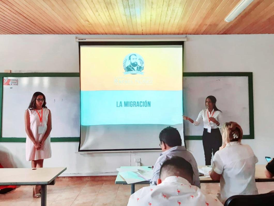 Programa de Derecho, Cartagena, presente en el V Foro de Estudiantes de Derecho, Ciencias Sociales y Económicas.