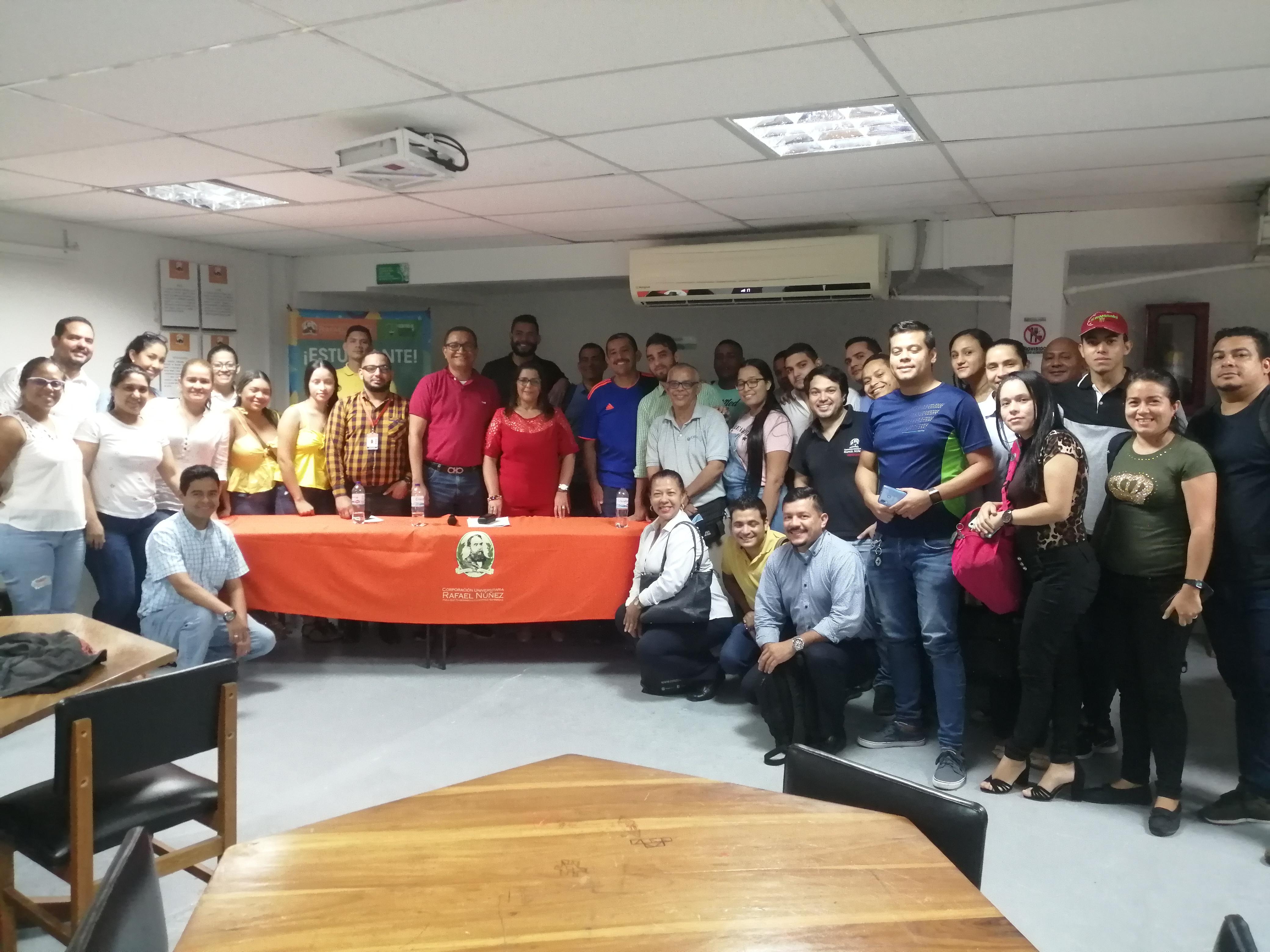 Conferencia sobre Derecho Familiar para estudiantes de Barranquilla