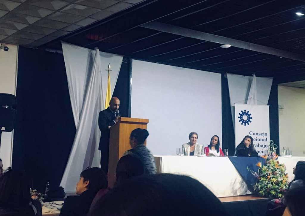 Docente de Trabajo Social en Barranquilla, presenta la nueva Revista Colombiana de Trabajo Social