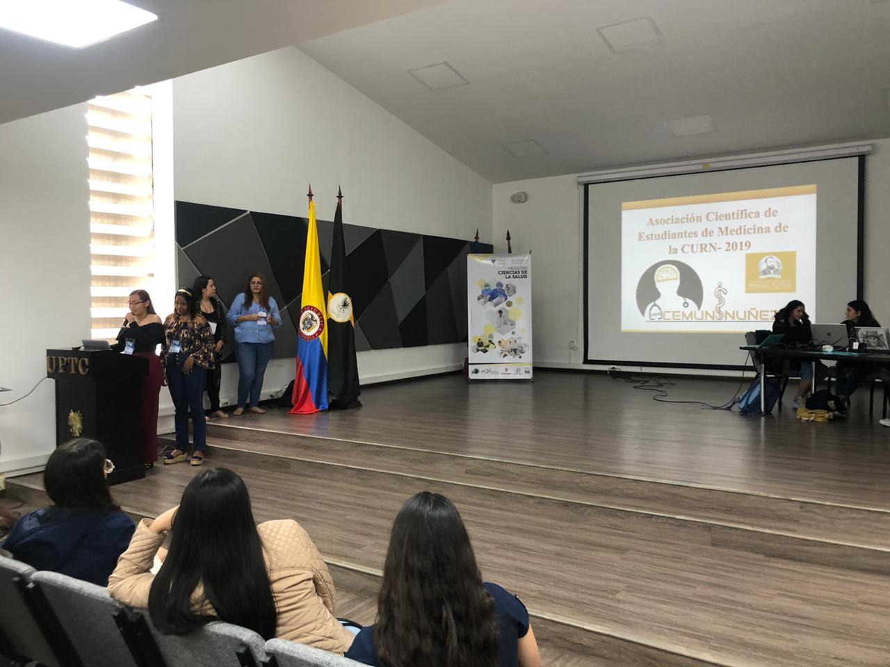 ACEM UNINÚÑEZ hizo su presentación en ASCEMCOL